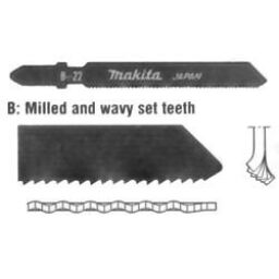 Single Lug Stainless Steel (Inox) Jigsaw Blades
