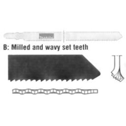 Single Lug Miscellaneous Jigsaw Blades