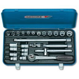 "Gedore 3/8"" Drive Socket Sets (26 piece)"