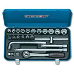 "Gedore 3/8"" Drive Socket Sets (22 piece)"