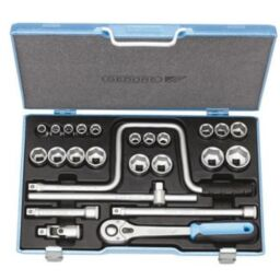 "Gedore 1/2"" Drive Socket Sets (25 piece)"