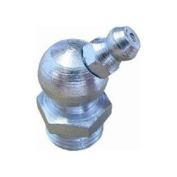 Metric Threads Steel Hydraulic Nipples