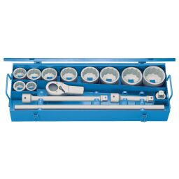 """Gedore 1"""" Square Drive Socket Sets and Ratchets"""