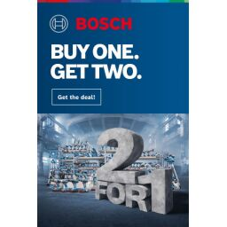 Deal 582 - Bosch Pro360 Buy One Get Two