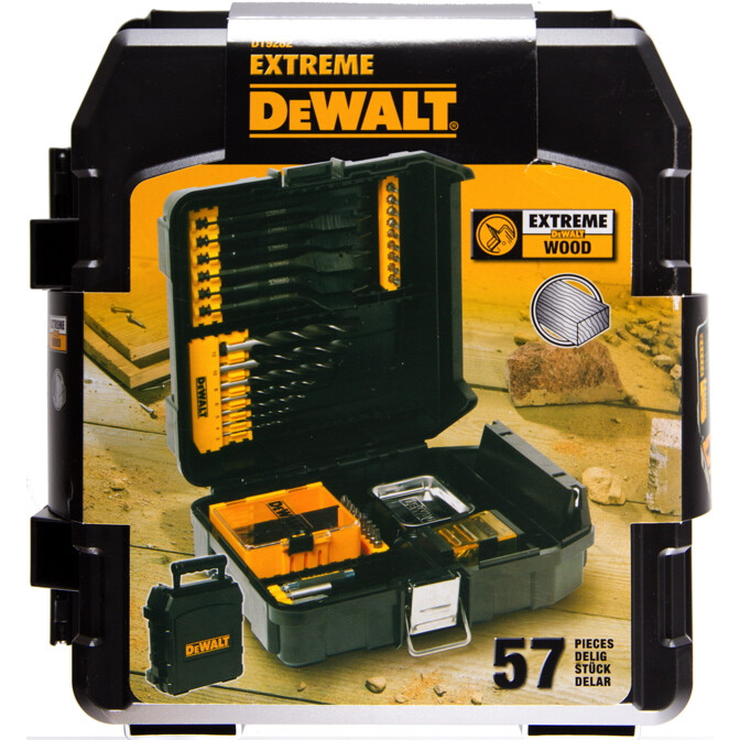 DeWalt DT9282-QZ 57 Piece Mini MAC Wood Drilling Kit