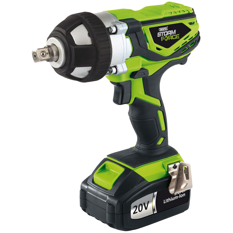 Draper 01031 CIW20GSF Storm Force Cordless Impact Wrench 20 V From Lawson HIS