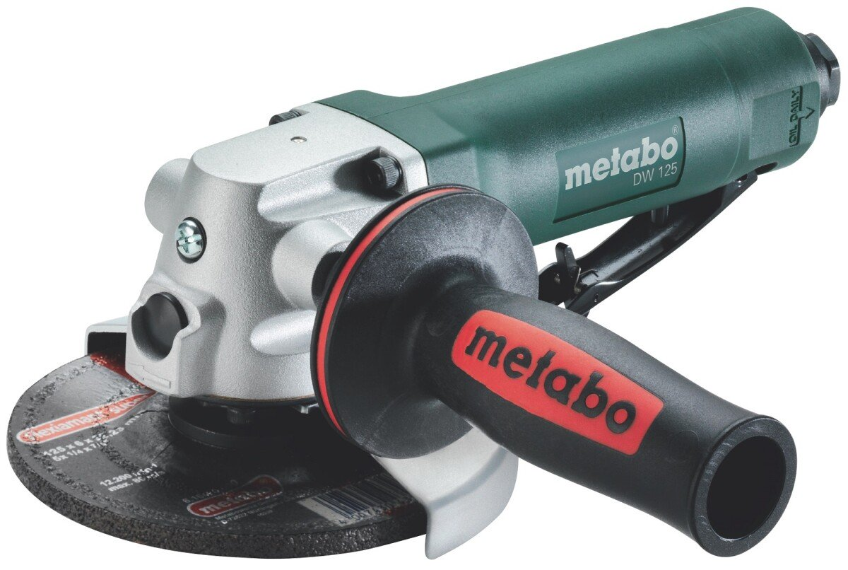 """Metabo DW125 125mm (5"""") Air Angle Grinder"""