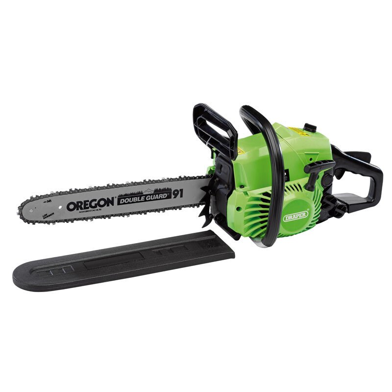 Draper 02567 CSP3940 400mm Petrol Chainsaw with Oregon® Chain and Bar (37cc)