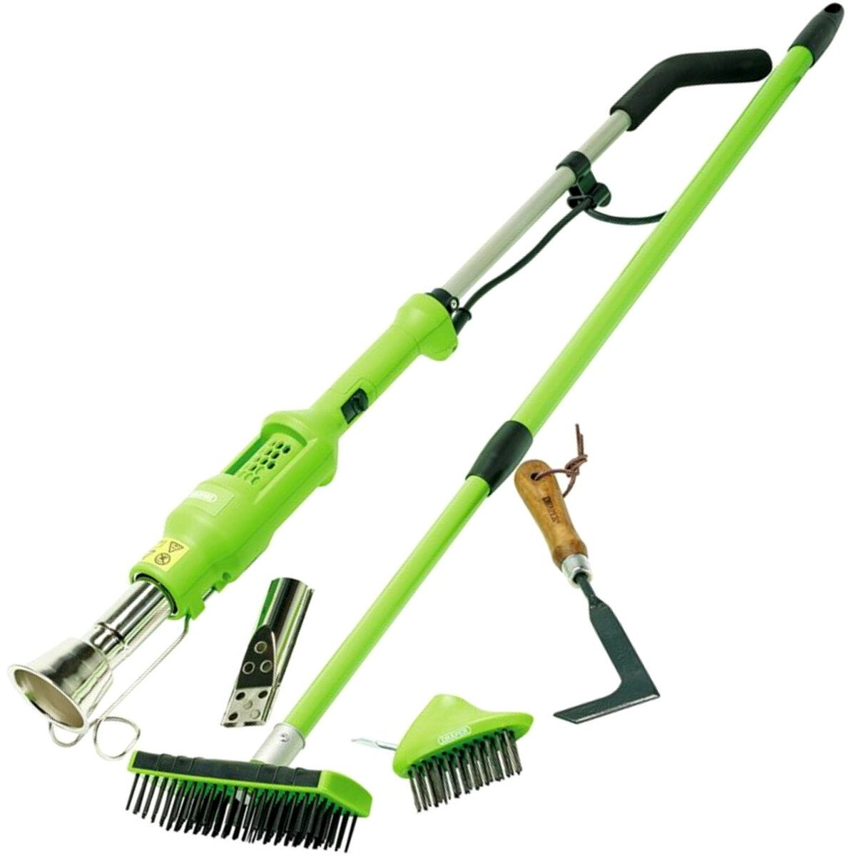 Draper 02607 *WBPBS Weed Burner 2000W, Paving Brush and Patio Hand Weeder 3 Piece Kit