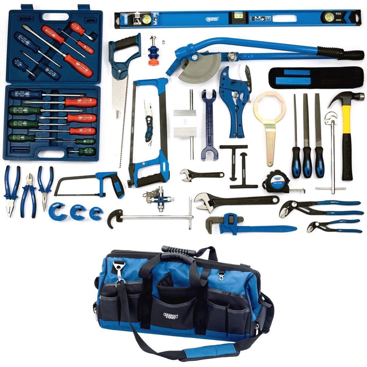 Draper 04380 *PLUMBTK Plumbing Tool Kit