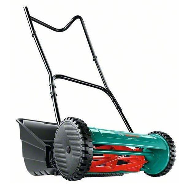 Bosch AHM 38G Push Hand Lawn Mower 38cm Cut Width