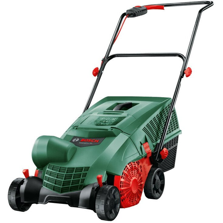 Bosch UniversalRake 900 Electric Lawnraker Fast and Effective Removal of Moss and Thatch