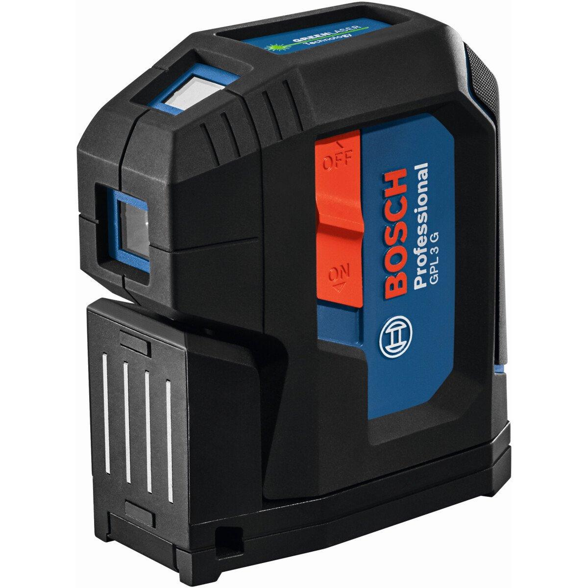 Bosch GPL 3 G 3 Point Green Beam Laser Level 30m