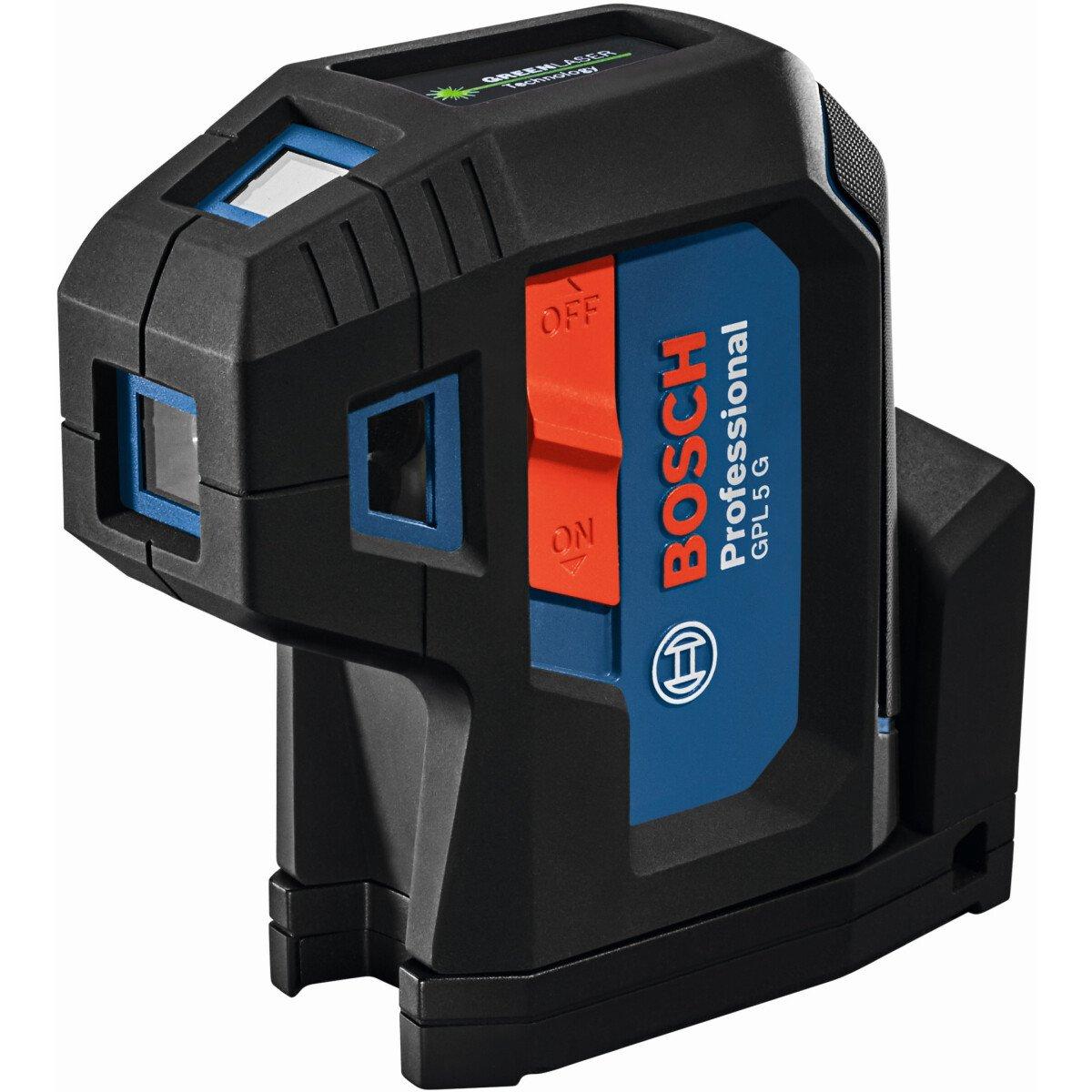 Bosch GPL 5 G 5 Point Green Beam Laser Level 50m