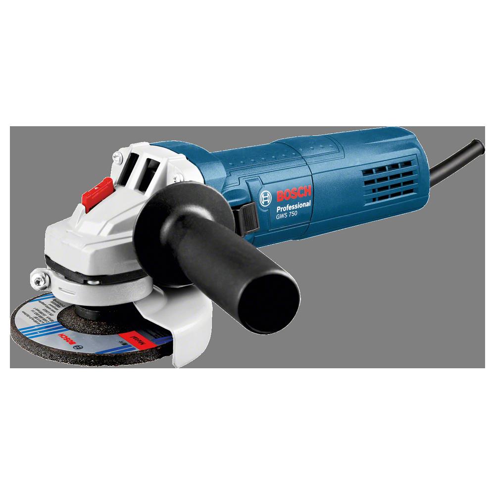 """Bosch GWS 750 4 1/2""""/115mm 750W Professional Angle Grinder"""