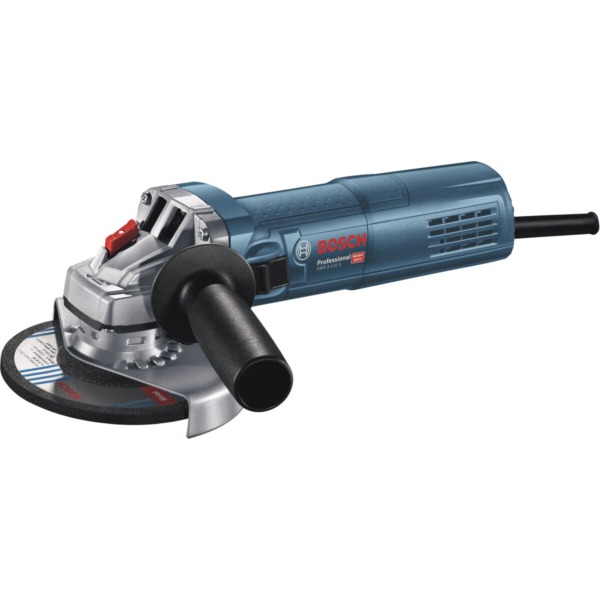"Bosch GWS 9-115 S 4 1/2"" (115mm) 900 W Slim Grip Grinder with Speed Selection"