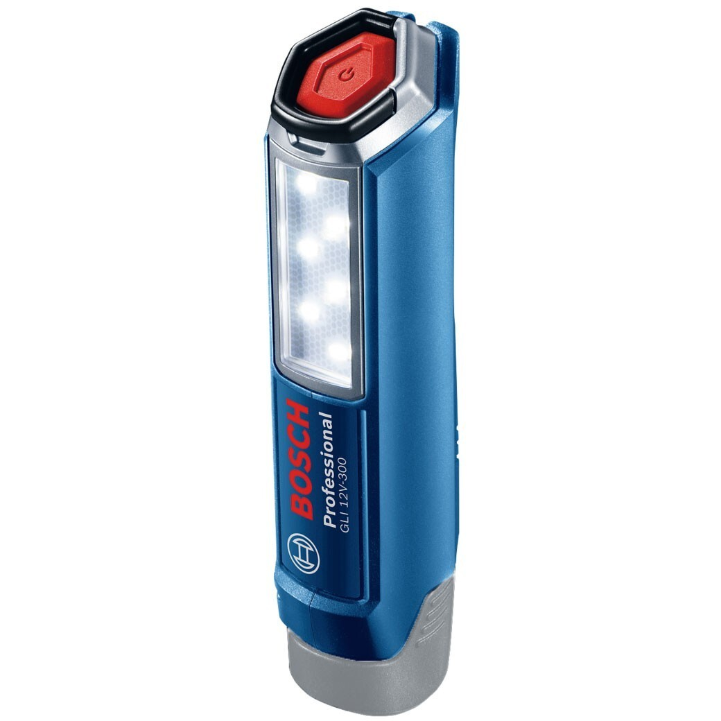 Bosch GLI 12V-300 Body Only Work LED Torch - In Carton