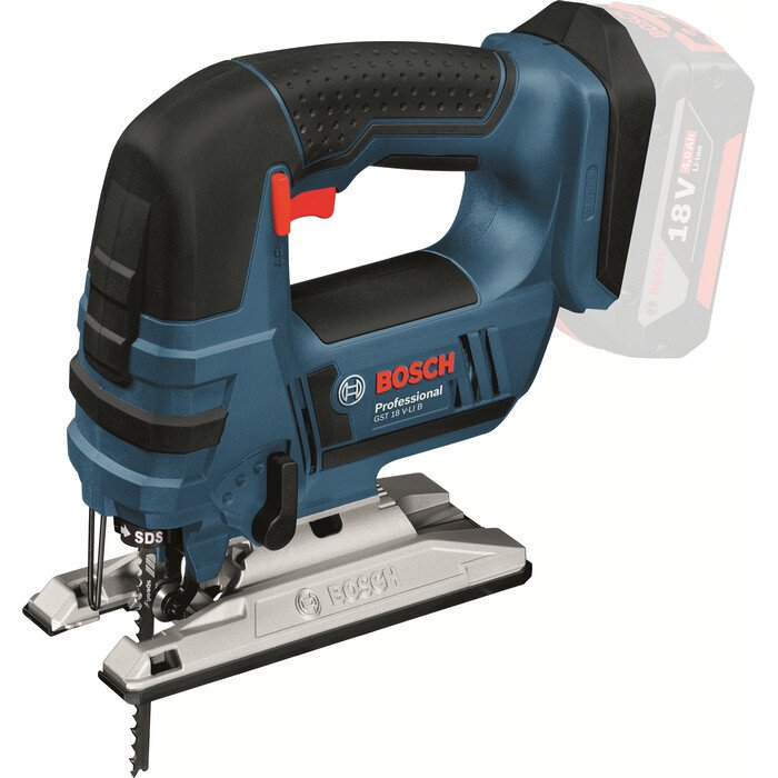 Bosch GST 18 V-LiB Body Only 18v Li-ion Bow Handle Cordless Jigsaw in Carton