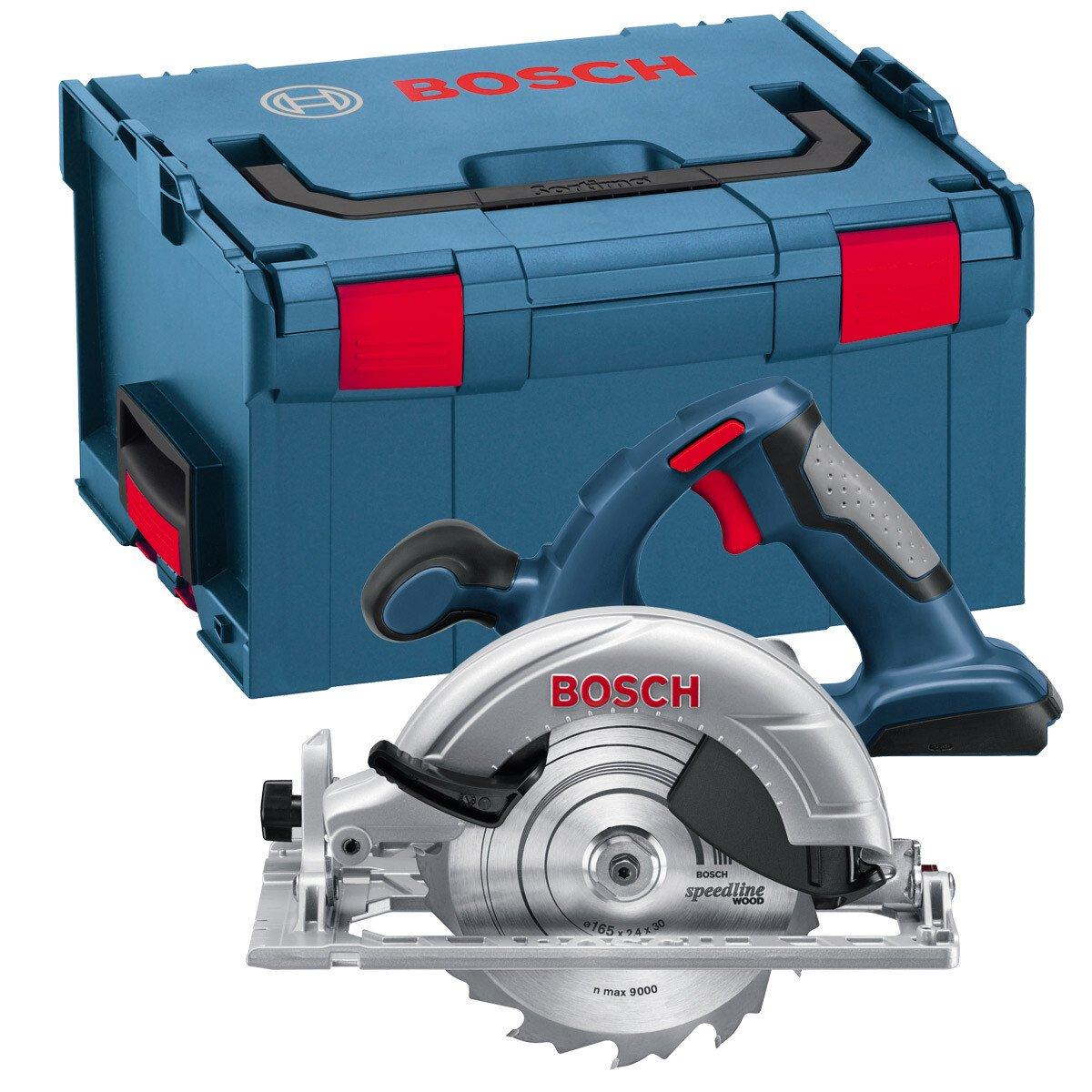 Bosch GKS 18 V-LIN Body Only 18V Li-ion Cordless Circular Saw in L-Boxx