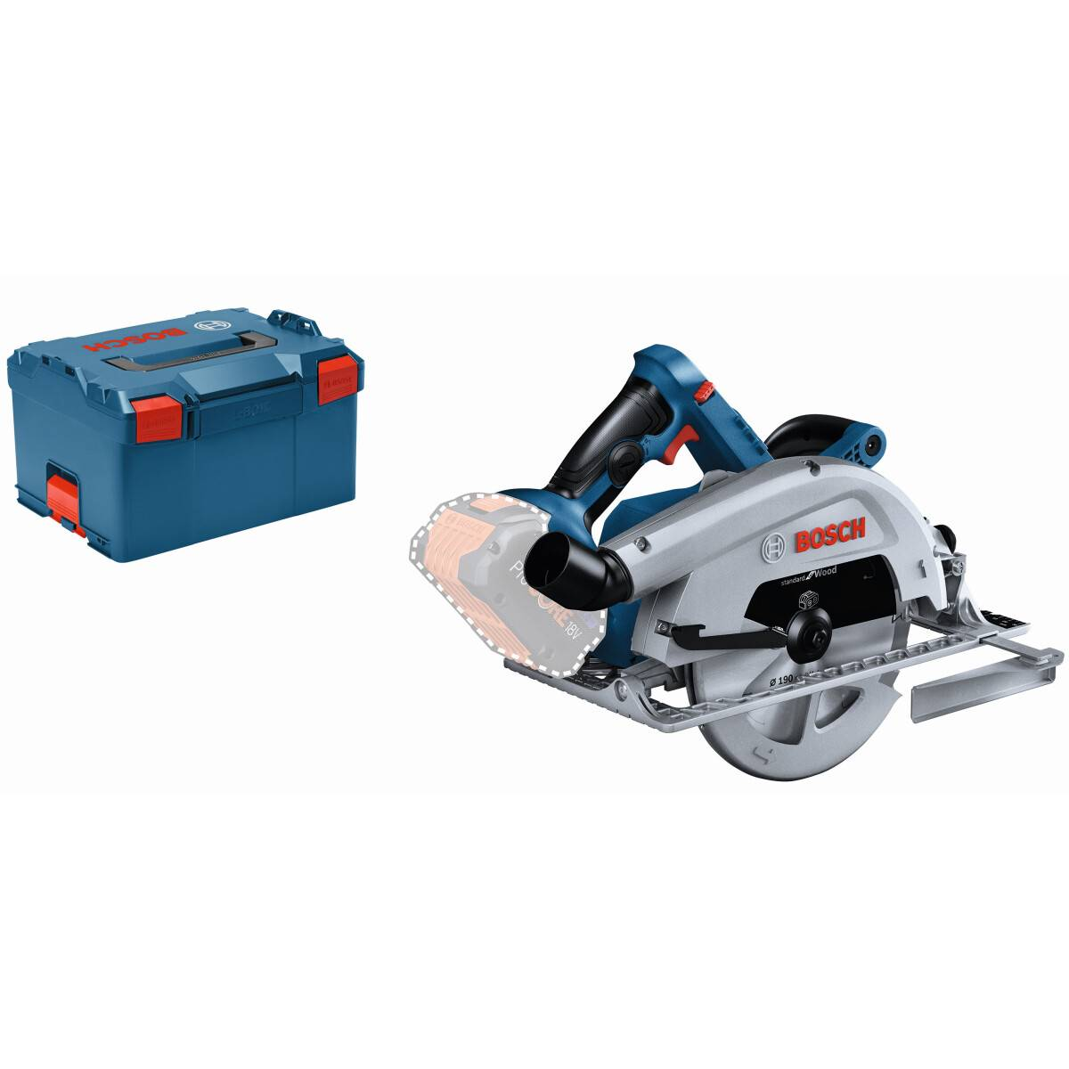 Bosch Gks 18v 68 C 18v Body Only Biturbo Brushless Circular Saw 190mm Connection Ready In L Boxx From Lawson His