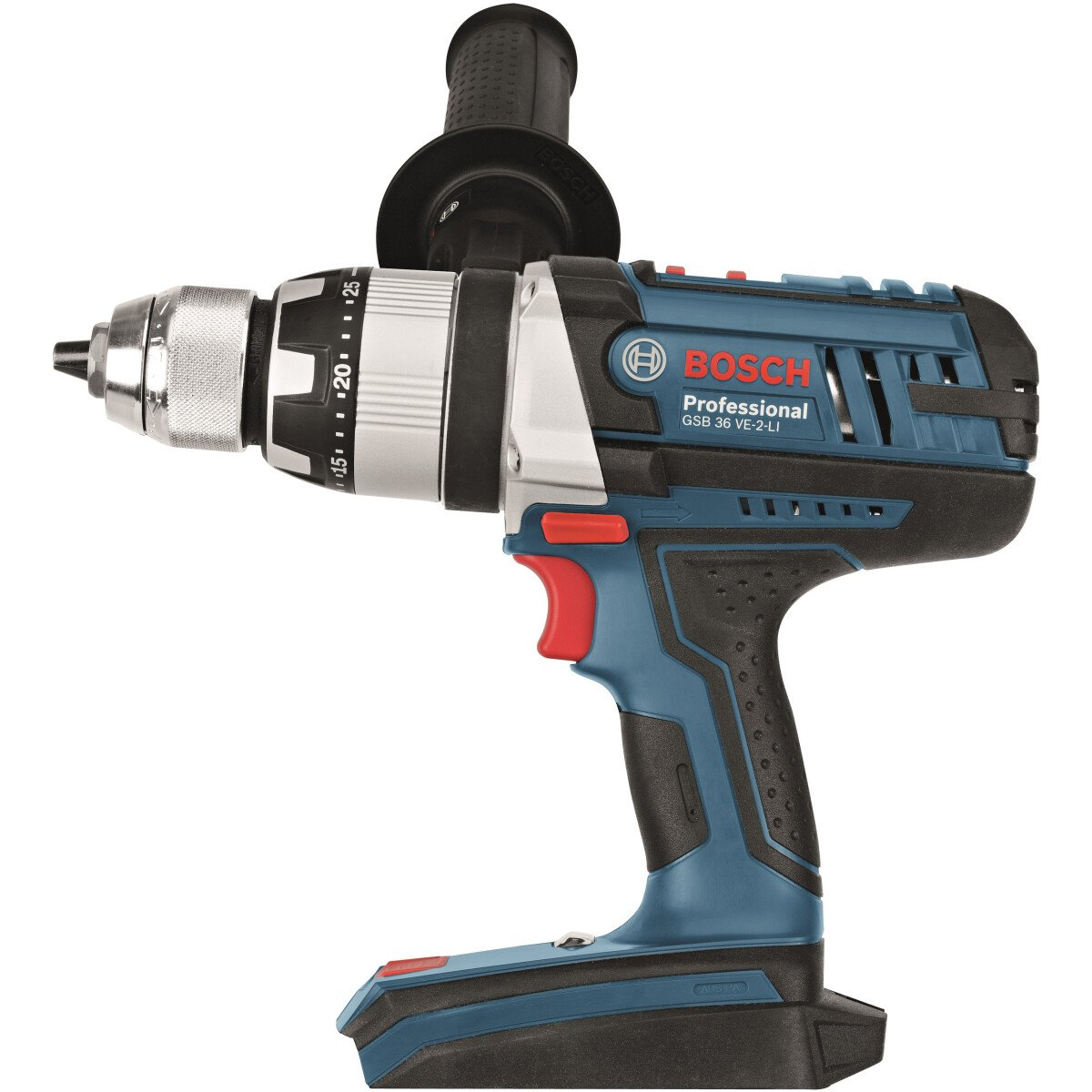 Bosch GSB 36 VE-2-LiNCG Body Only 36V 2-Speed Heavy Duty Combi in L-BOXX
