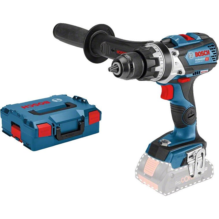 Bosch GSB 18V-110CNCG 18v Body Only BRUSHLESS 2 Speed Combi Connection Ready in L-Boxx