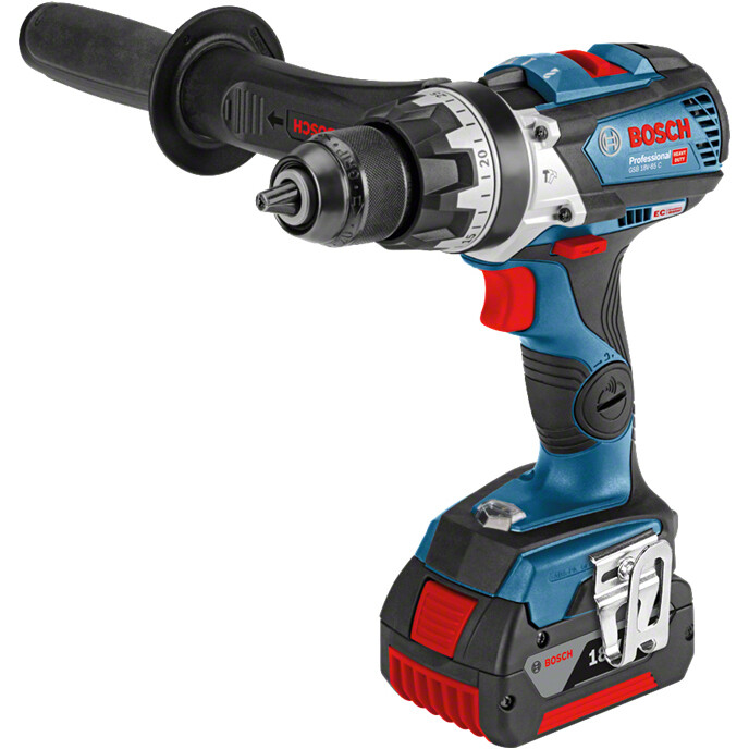 Bosch GSR18V110C 18V Brushless Drill/Driver  2x5.0Ah Batteries in L-Boxx Connection Ready
