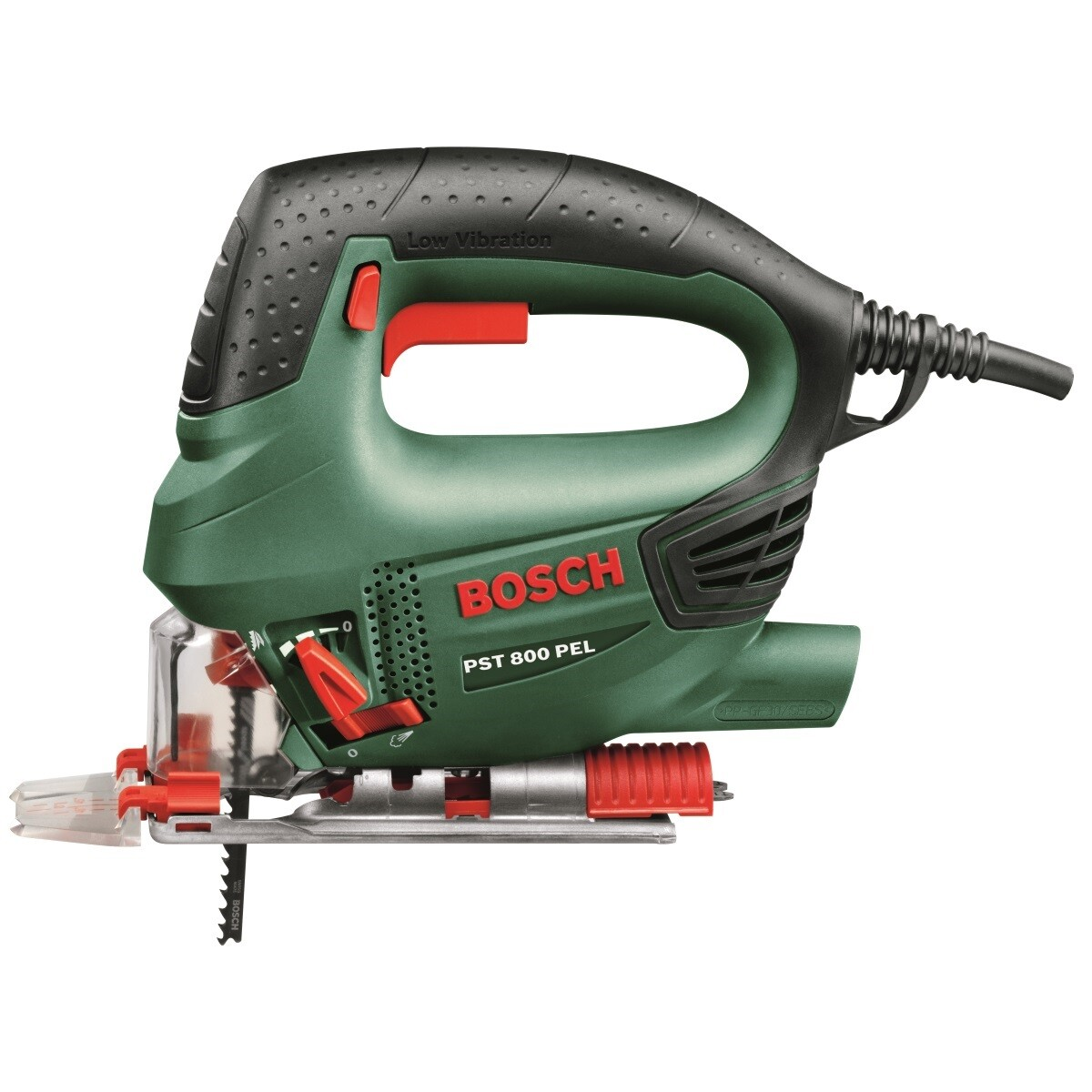 bosch pst800pel 530w compact universal generation jigsaw. Black Bedroom Furniture Sets. Home Design Ideas
