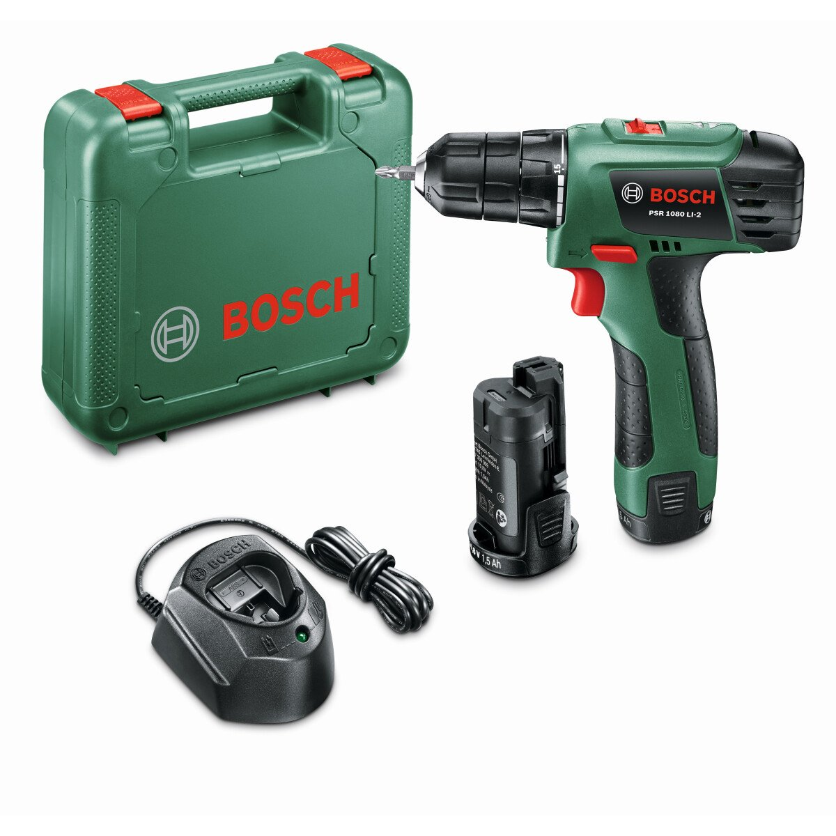 Bosch EasyDrill 1200 12V Two-Speed Drill/Driver 1X1.5Ah