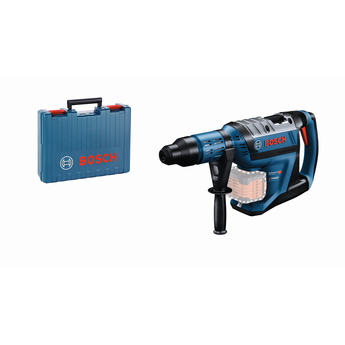 Bosch GBH 18V-45 C Body Only 18v BiTurbo Brushless SDS Max Hammer Drill Connection Ready in Carry Case