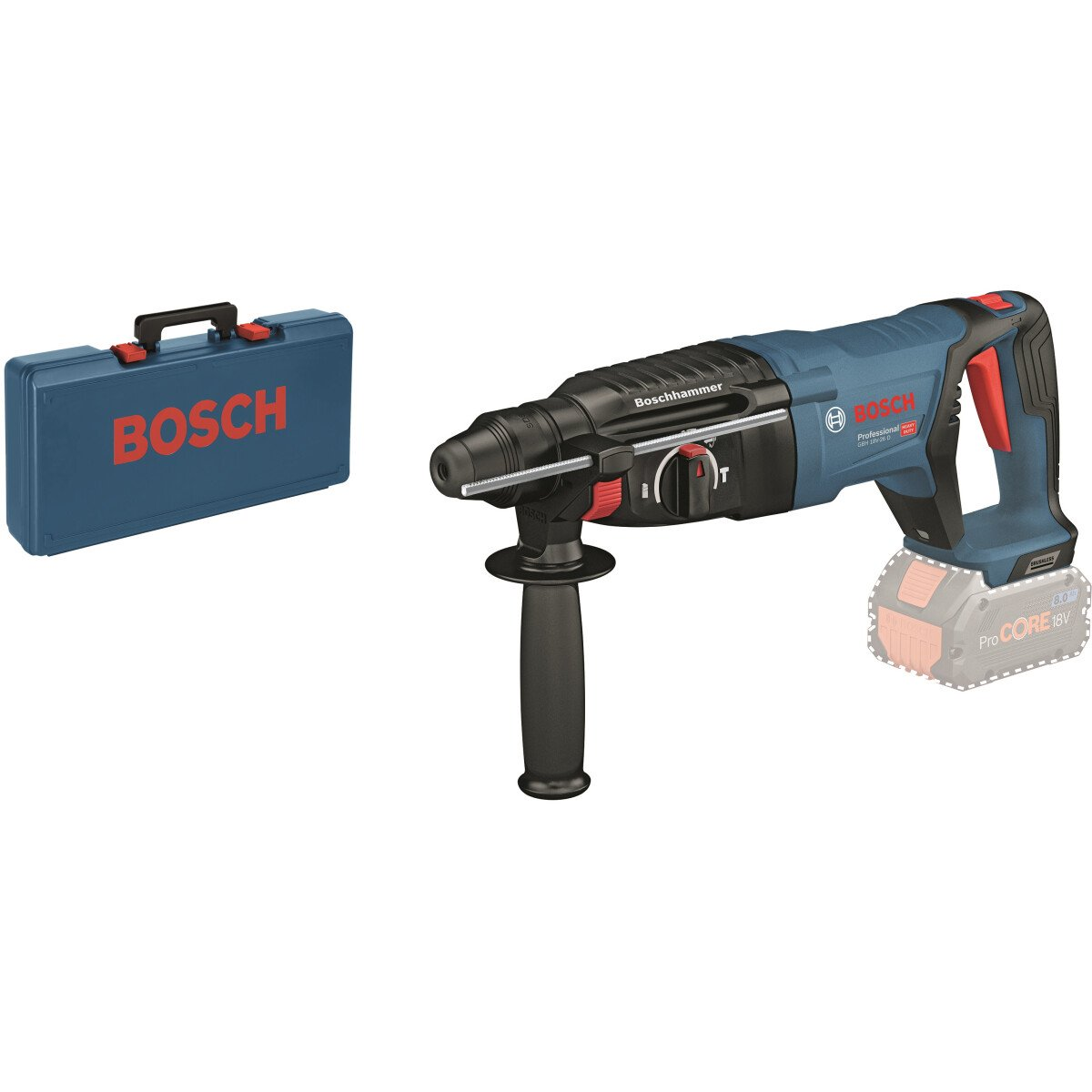 Bosch GBH 18V-26D Body Only 18V Brushless SDS Plus Hammer in Carry case