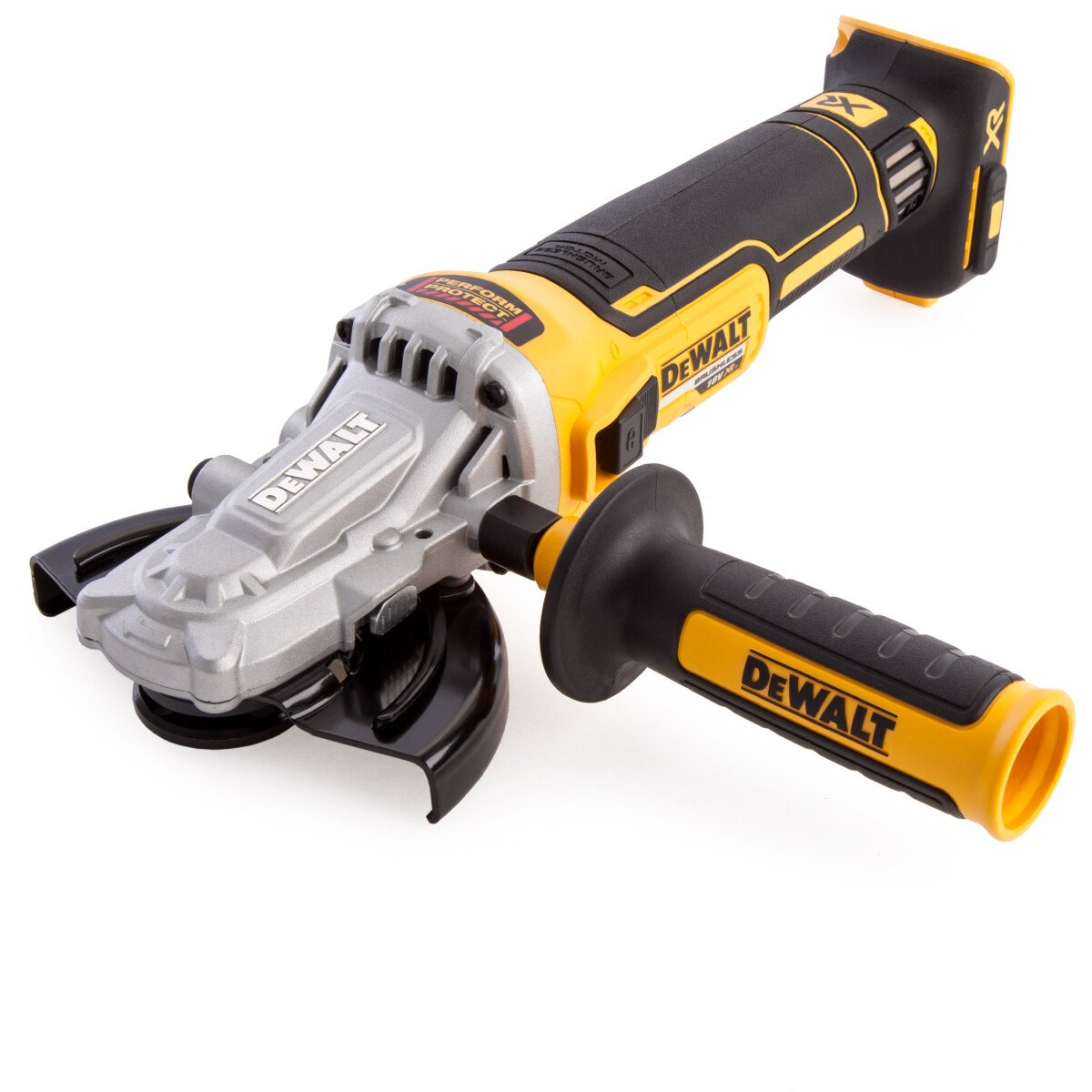 DeWalt DCG405FN-XJ Body Only 18V XR Brushless Flathead Angle Grinder 125mm