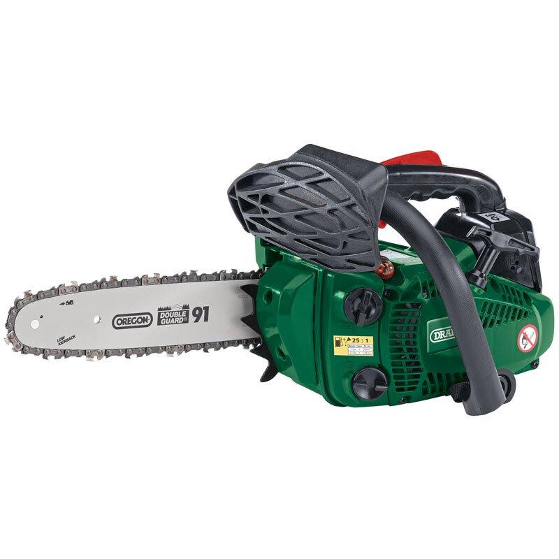 Draper 15042 CSP2625 25.4cc 250mm 2 Stroke Petrol Chainsaw with Oregon® Chain and Bar
