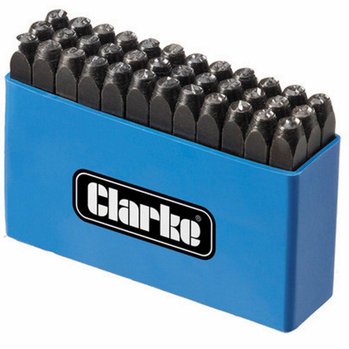 Clarke ET105 Letter and Number Punch Set 4mm 1700125
