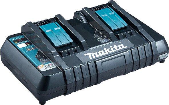 Makita DC18RD 110v Dual Port Charger For 14.4v - 18v Li-ion Batteries (110v)