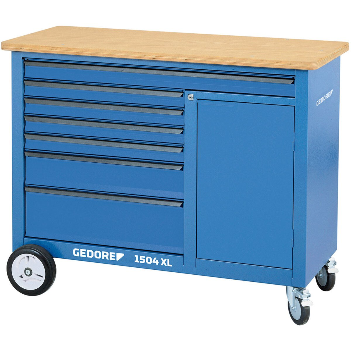 Gedore 1988468 Mobile Workbench Extra Wide 1504 XL