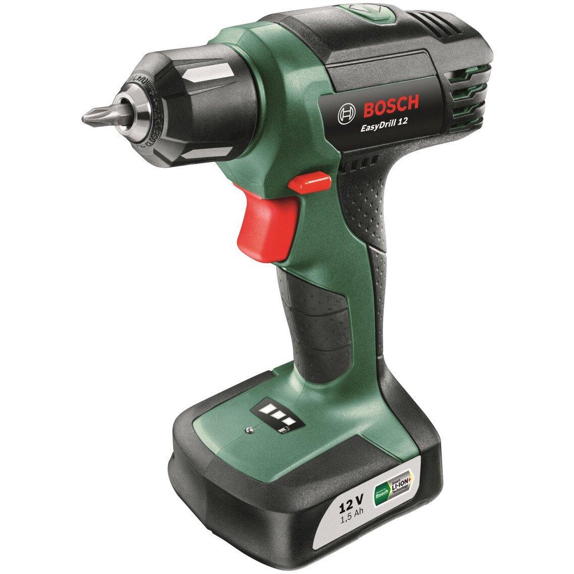 Bosch EasyDrill 12 12V Drill/Driver  1x 1.5Ah Integrated Battery in Carton
