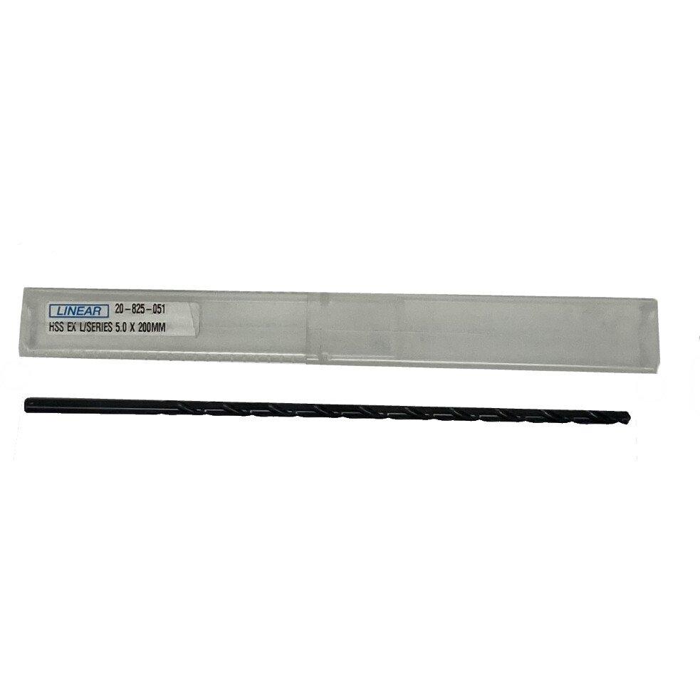 Linear 20-825-051 5.0mm x 200mm Extra Long Drill Bit