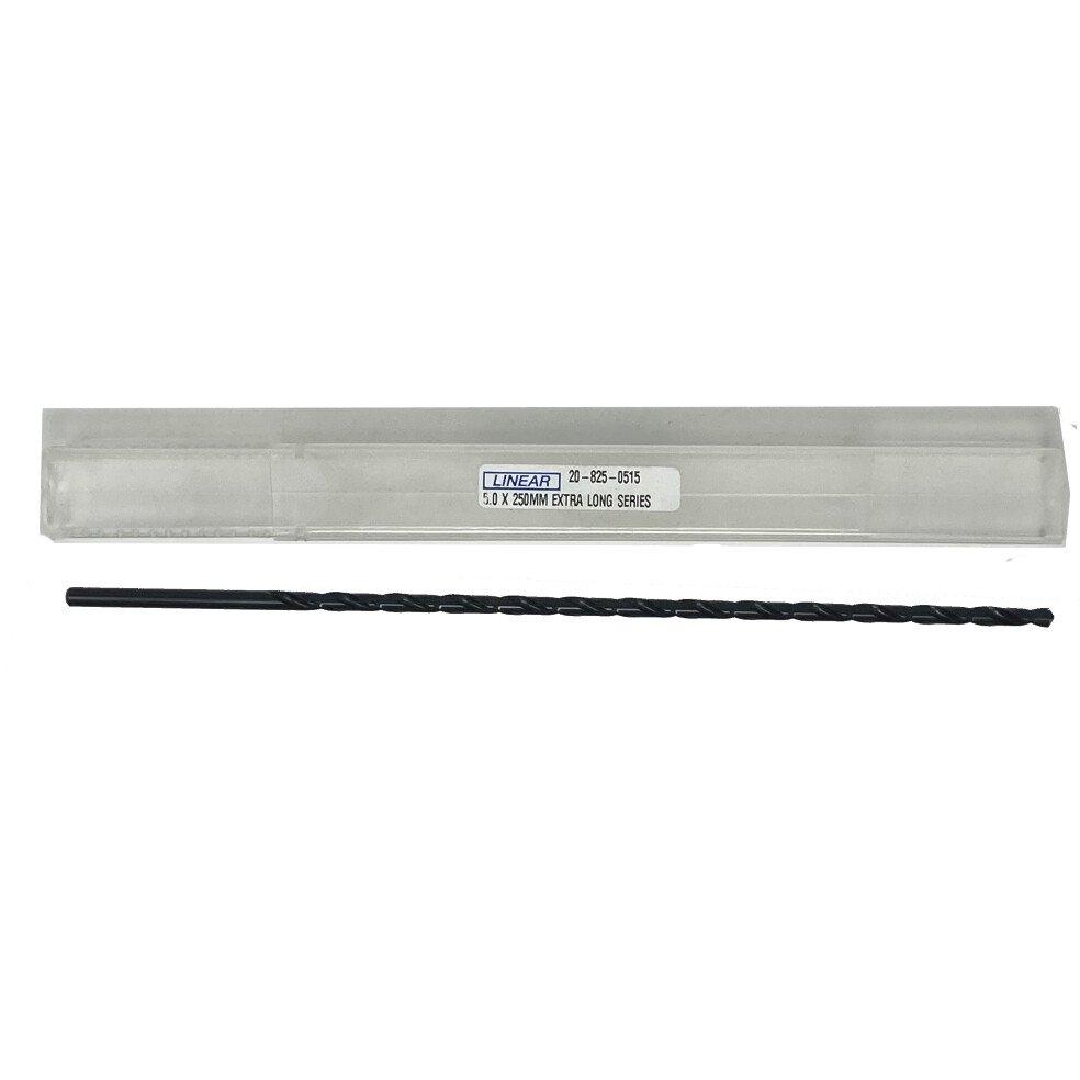 Linear 20-825-0515 5.0mm x 250mm Extra Long Drill Bit