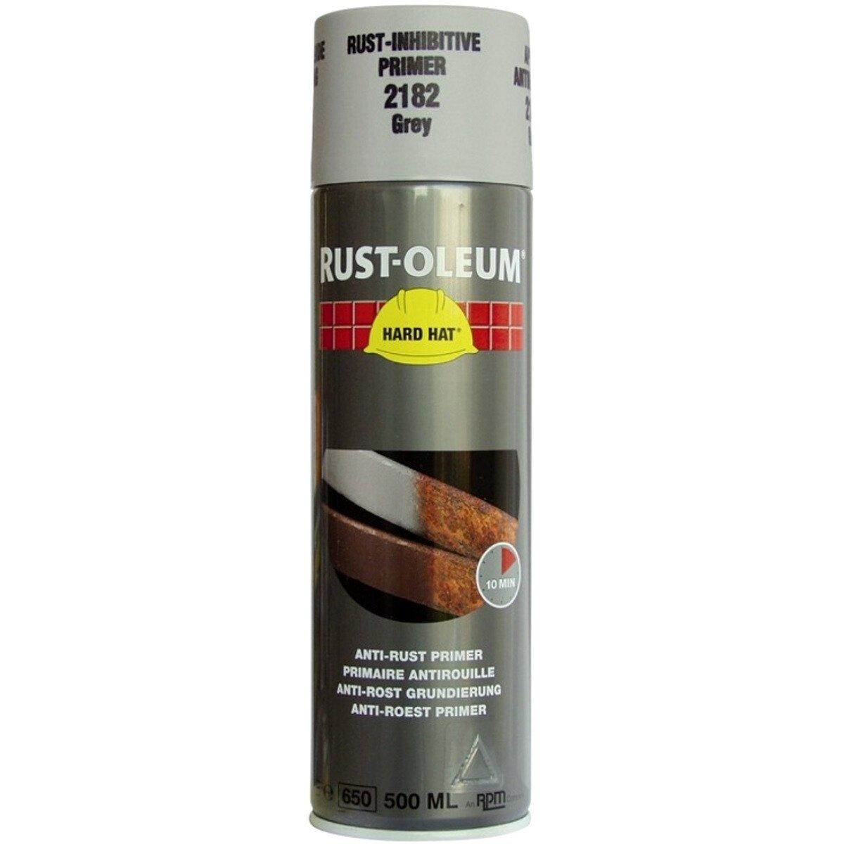 Rustoleum 2182 Rust-Inhibitive Grey Primer 500ml Aerosol Spray Paint