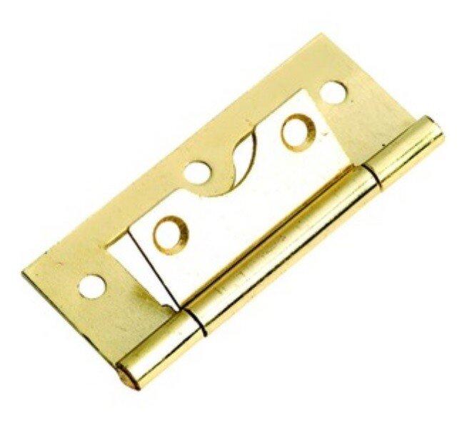 Specialist 23421 Steel Flush Hinge Brass Plated 38mm Packet of 2