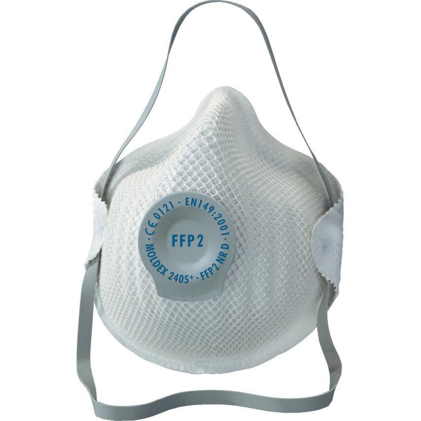 Moldex 2405 Valved Dust/Mist FFP2 Respirator (box 20)