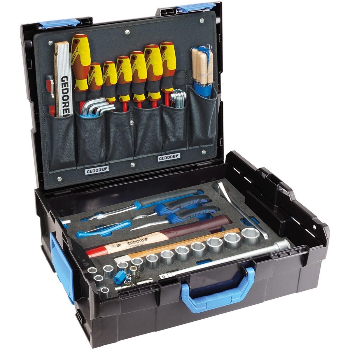 Gedore 2658194 58 Piece Sortimo Mechanics Tool Kit and L-Boxx 1100-01