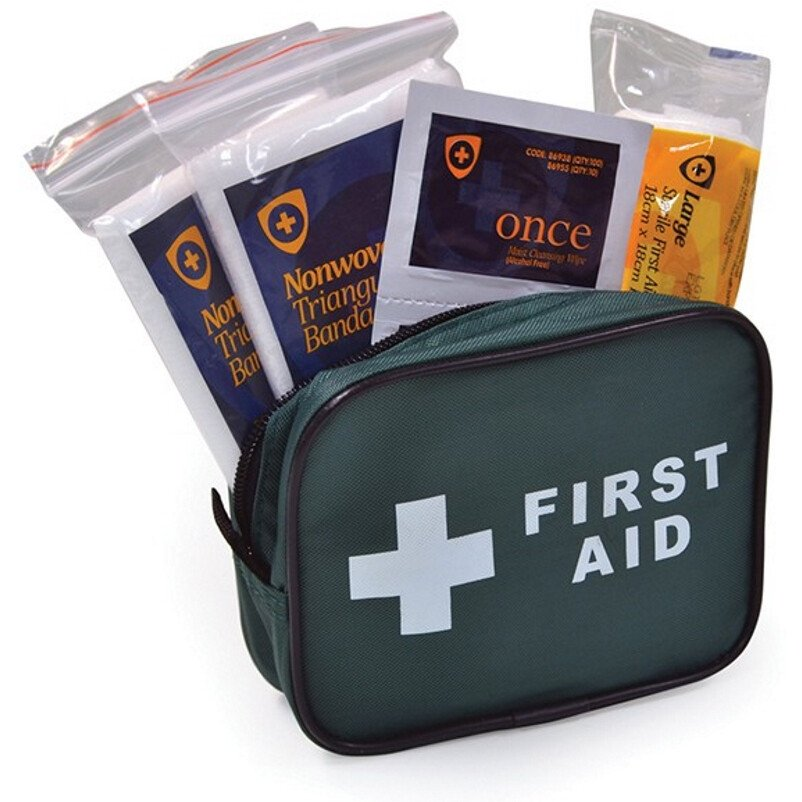 Lawson-HIS 30FHSET1 Blue DoT Travel First Aid Kit for One Person