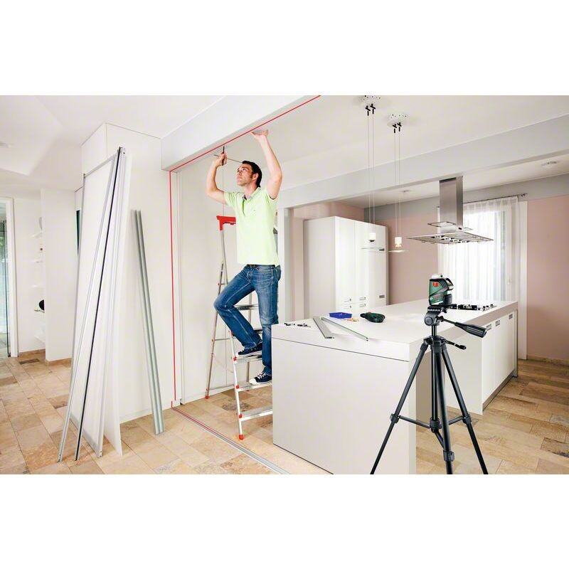 bosch pll 360 self levelling 360 line laser from lawson his. Black Bedroom Furniture Sets. Home Design Ideas