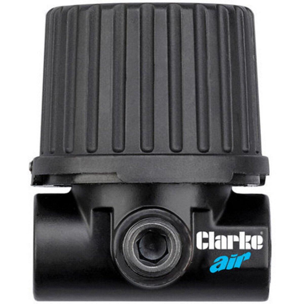 """Clarke CAT188 1/4"""" Miniature Compressor Air Pressure Regulator 3120505"""