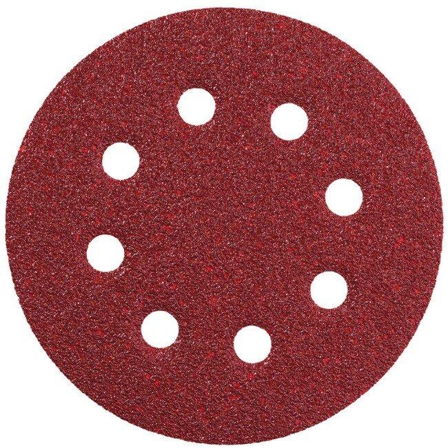 Metabo 631583000 125mm Sanding Sheet Assortment 10x60,10x80, 5x120 Grit (Pack of 25)