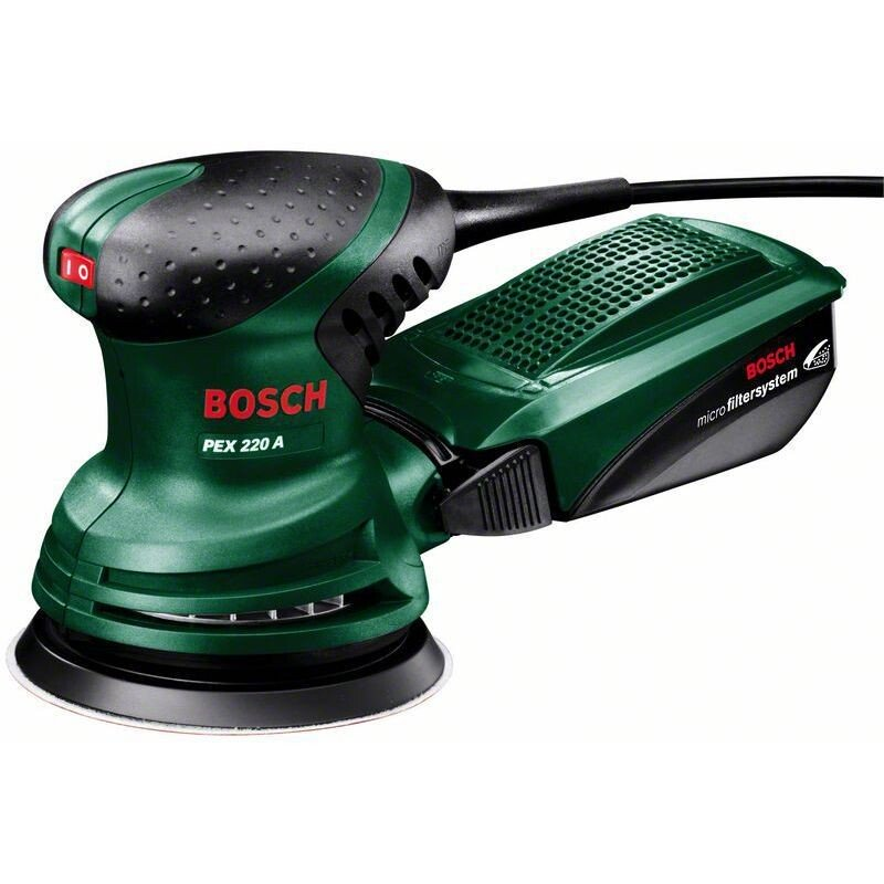 """Bosch PEX 220 A 220W 5""""/125mm Random Orbital Sander"""