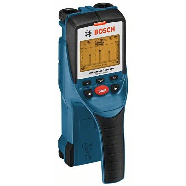 Bosch D-TECT 150 Digital Wall Scanner With Metal/Stud/Electrical Wiring Detector