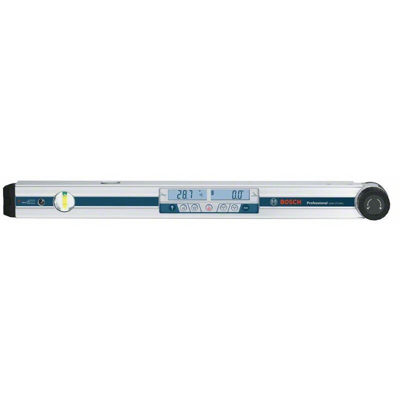 Bosch GAM270MFL Digital Angle Measurer, Inclinometer With an Integrated Laser up to 30m